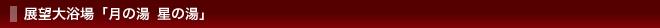 展望大浴場「月の湯 星の湯」